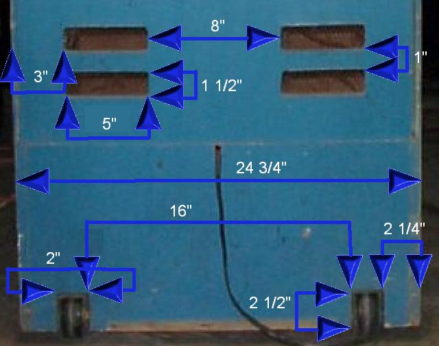 Wouter's page : Arcade Cabinet dimensions