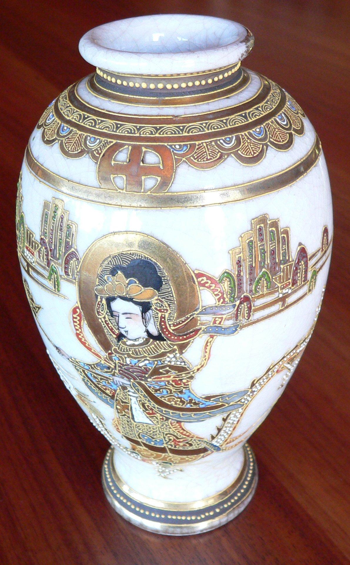 Satsuma vase signatures image collections vases design picture help identify oriental vase satsuma pottery grass script vase reviewsmspy reviewsmspy