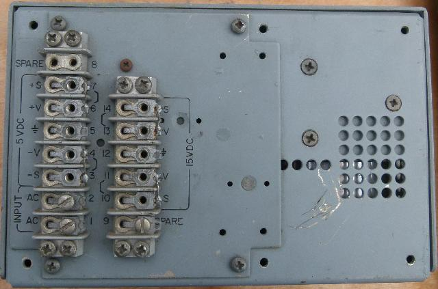 ZS1KE : Lambda D-9172-2 400Hz Regulated Power Supply